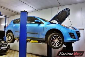 Filtr cząstek stałych Mazda 3 II 1.6d 116 KM