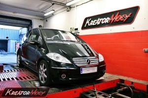 Podniesienie mocy Mercedes W169 A 200 CDI 140 KM
