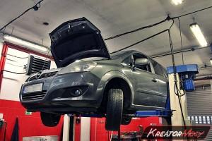 Zapchany DPF Opel Zafira B 1.7 CDTI 125 KM