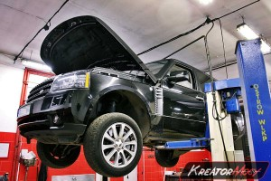 Usuwanie DPF Range Rover 4.4 TDV8 313 KM