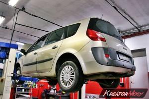 Usuwanie DPF Renault Scenic II 1.9 DCI 120 KM