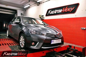 Chip tuning Toyota Corolla 2014 1.4 D4D 90 KM