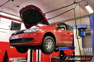Zapchany DPF VW Golf 6 1.6 TDI 90 KM