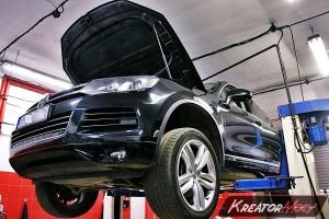 Usuwanie DPF VW Touareg II 3.0 TDI 245 KM