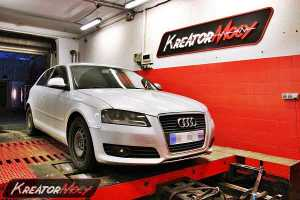 Chip tuning Audi A3 2.0 TDI CR 140 KM