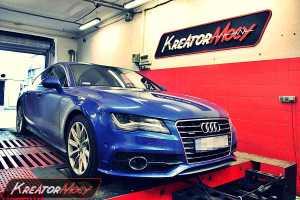 Chip tuning Audi A7 3.0 TFSI 300 KM