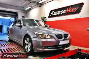Chip tuning BMW E60 2.0d 177 KM