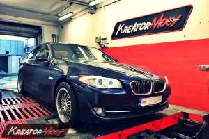 Chip tuning BMW 5 F10 3.0d 204 KM