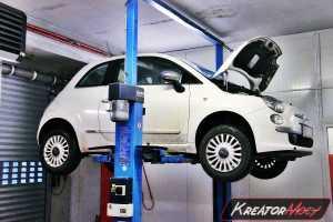 Filtr cząstek stałych Fiat 500 1.3 MultiJet 75 KM