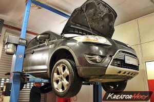 Usuwanie DPF Ford Kuga 2.0 TDCI 140 KM