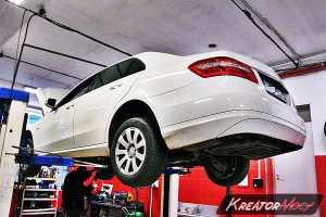 Problem DPF Mercedes W212 E 220 CDI 170 KM