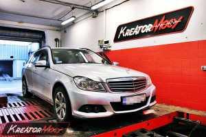 Chip tuning Mercedes W204 C 200 CDI 120 KM