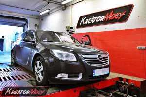 Chip tuning Opel Insignia 2.0 Turbo 220 KM