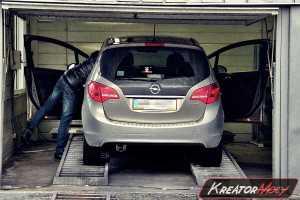 Chip tuning Opel Meriva 1.4 Turbo 120 KM