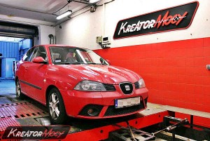 Chip tuning Seat Ibiza 6L 1.9 TDI 100 KM