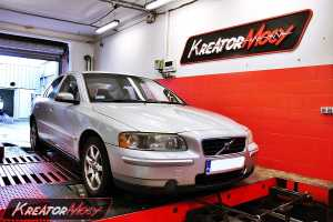 Chip tuning Volvo S60 2.4d 130 KM