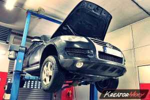 Usuwanie DPF VW Touareg 3.0 TDI 240 KM
