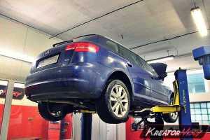 Usuwanie DPF Audi A3 8P 2.0 TDI CR 140 KM
