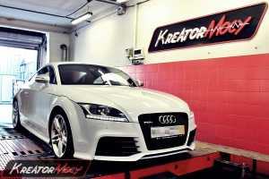 Chip tuning Audi TT RS 2.5 TFSI 340 KM