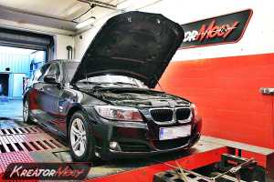 Chip tuning BMW 3 E90 320D 177 KM