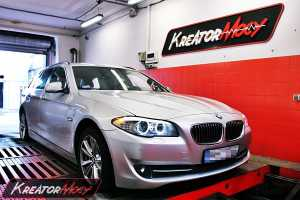 Chip tuning BMW 5 F11 525d 204 KM