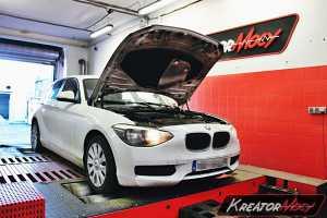 Chip tuning BMW 1 F20 116i 136 KM