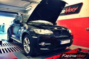 Chip tuning BMW E71 X6 xDrive40d 306 KM