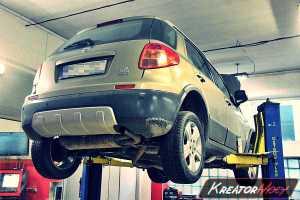 Filtr cząstek stałych Fiat Sedici 1.9 MultiJet 120 KM