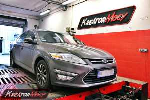 Chip tuning Ford Mondeo MK4 1.6 Turbo 160 KM