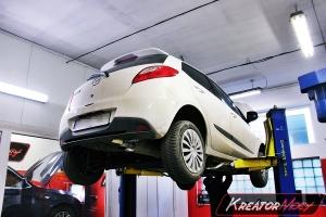 Usuwanie DPF Mazda 2 1.6d 90 KM