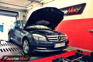 Chip tuning Mercedes W204T C 350 CDI 231 KM