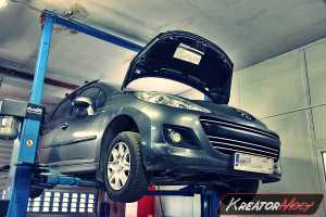 Usuwanie DPF Peugeot 207 1.6 HDI 90 KM