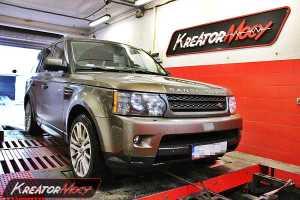 Podniesienie mocy Range Rover Sport 3.0 TDV6 245 KM