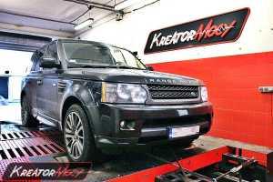 Podniesienie mocy Range Rover Sport 3.0D 210 KM