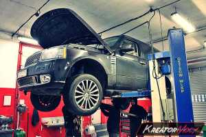 Usunięcie filtra DPF Range Rover 4.4 TDV8 313 KM