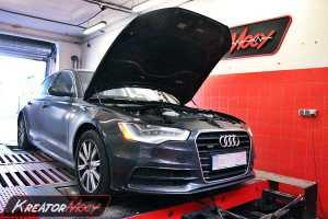 Podniesienie mocy Audi A6 C7 3.0 TSI 310 KM USA