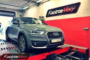 Podniesienie mocy Audi Q3 2.0 TDI 177 KM