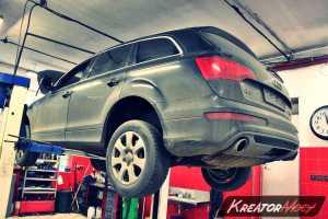 Zapchany DPF Audi Q7 4.2 TDI 340 KM