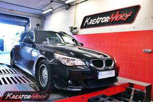 Chip tuning BMW E61 525d 197 KM