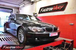 Podniesienie mocy BMW E65 730d 211 KM