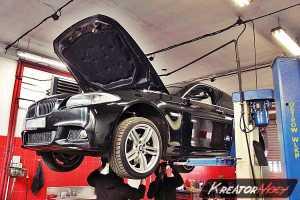Usuwanie DPF BMW F10 535d 300 KM