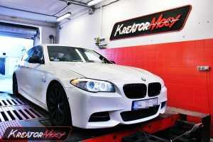 Chip tuning BMW F10 M550d 381 KM