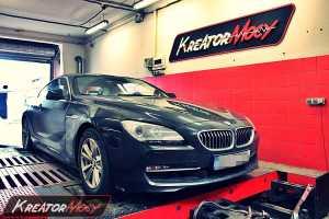 Chip tuning BMW F12 640i 320 KM