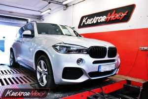 Podniesienie mocy BMW F15 X5 xDrive40d 313 KM