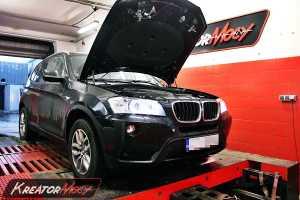 Chip tuning BMW X3 F25 2.0d 184 KM