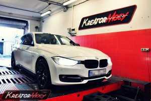 Podniesienie mocy BMW 3 F30 2.0d 184 KM