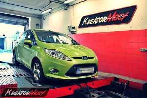 Chip tuning Ford Fiesta MK7 1.6 TDCI 95 KM