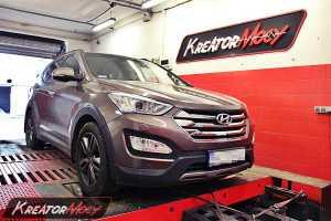 Chip tuning Hyundai Santa Fe 2.2 CRDI 197 KM