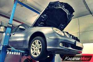 Zapchany DPF Mercedes W211 E 200 CDI 122 KM