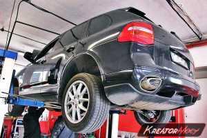 Zapchany DPF Porsche Cayenne Diesel 3.0 240 KM